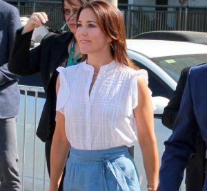 Mary de Danemark : la rivale mode de Kate Middleton ose la jupe en jean !