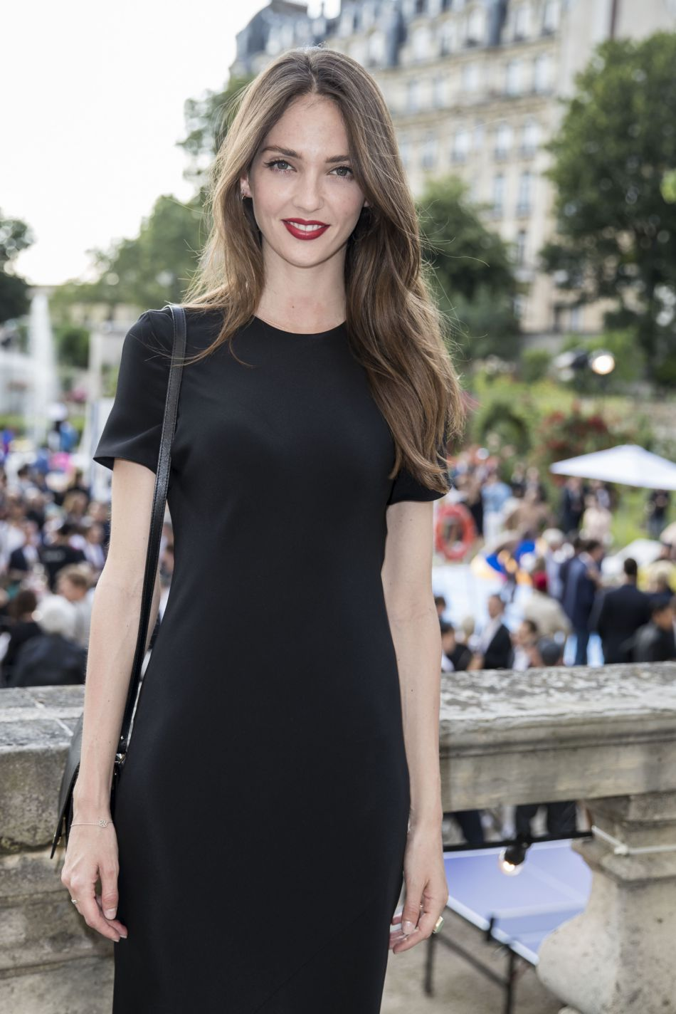 Annabelle Waters Belmondo, elle se consacre désormais à sa carrière de mannequin.
