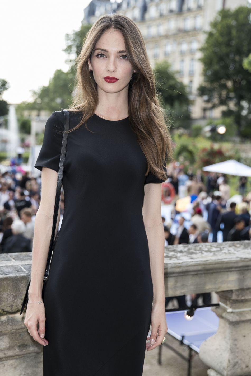 Annabelle Waters Belmondo, la petite-fille de Jean-Paul Belmondo était présente pour la soirée de la présentation Berluti.