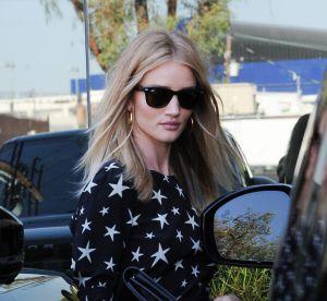 Rosie Huntington-Whiteley, la robe étoilée qui fait la différence à LA