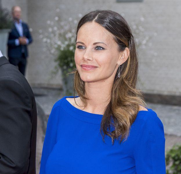 La princesse Sofia arrive à la soirée de l'Industry Day à Bastad le 4 août 2016. Elle assiste au dîner en tant que présidente d'honneur de l'association Project Playground.