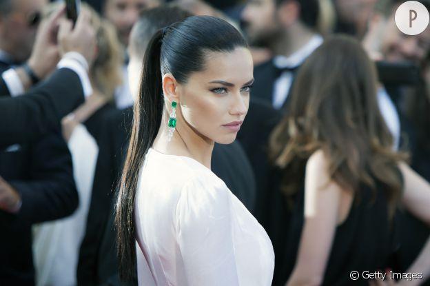 Adriana Lima, sublime mannequin brésilienne.
