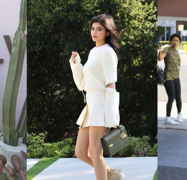 Kylie, reine du street style.