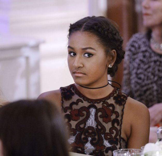 Sasha Obama a bien grandi. Aujourd'hui, elle travaillecomme tous les jeunes de son âge.