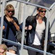 """La popstar a rejoint son chéri en Australie sur le tournage de """"Thor : Ragnarok"""" début juillet."""