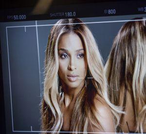 Ciara fait le show en backstage.