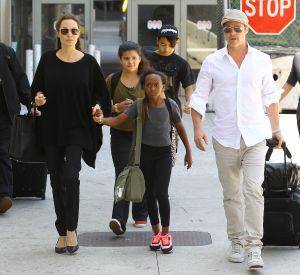 Brad Pitt n'a pu voir les enfants qu'une seule fois depuis l'annonce du divorce.
