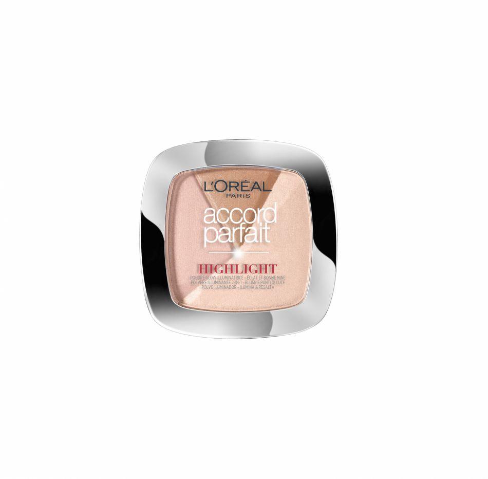Accord Parfait Highlight poudre de L'Oréal Paris, 9,90€