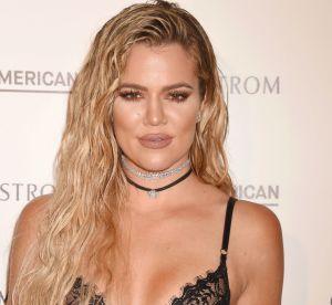 Khloe Kardashian : body en dentelle et booty moulé pour la promo de ses jeans