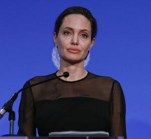Angelina Jolie : Brad lui manque