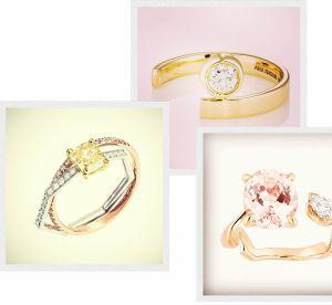 Bagues de fiançailles : 21 bijoux qui twistent les codes