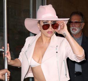 Lady Gaga : fesses à l'air dans la rue