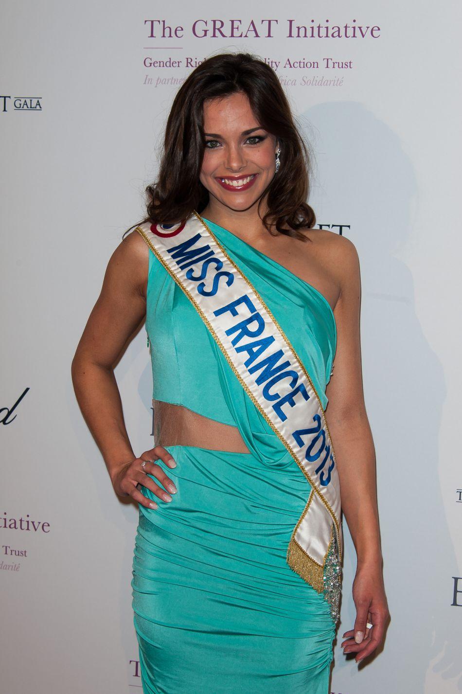 Elle est arrivée première dauphine de Miss Monde la même année !
