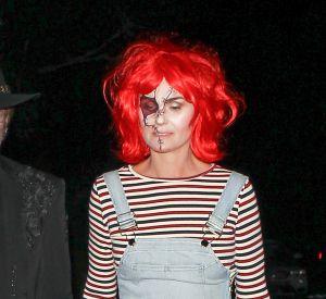 Avant la sortie avec les enfants, Laeticia avait fêté Halloween avec Johnny.