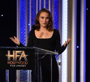 "Natalie Portman remporte le ""Hollywood actress award""."