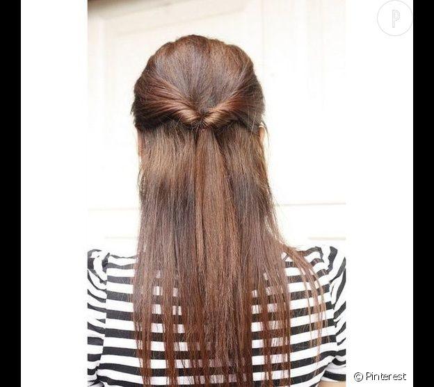 coiffure rapide à faire