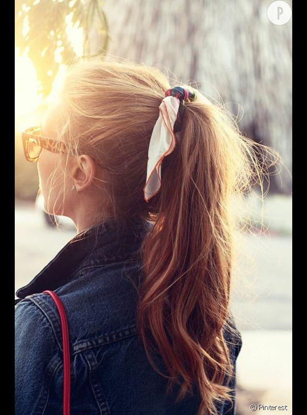 idée coiffure avec accessoire