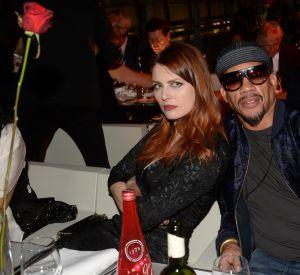 Elodie Frégé et Joey Starr à la soirée du Etam Live Show