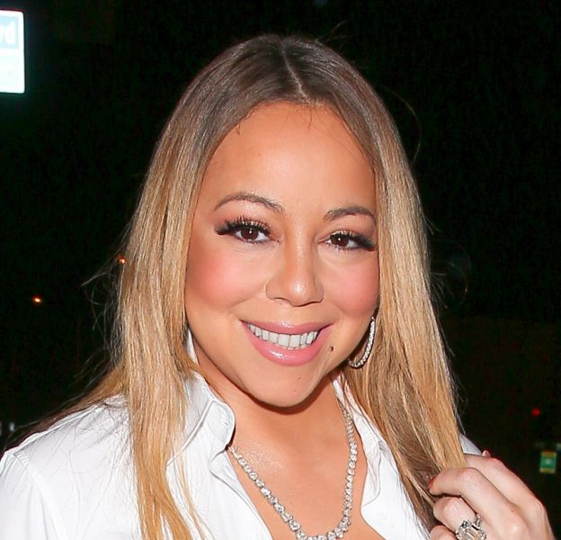 Mariah Carey a dévoilé sur Instagram une tenue de scène bien sexy !