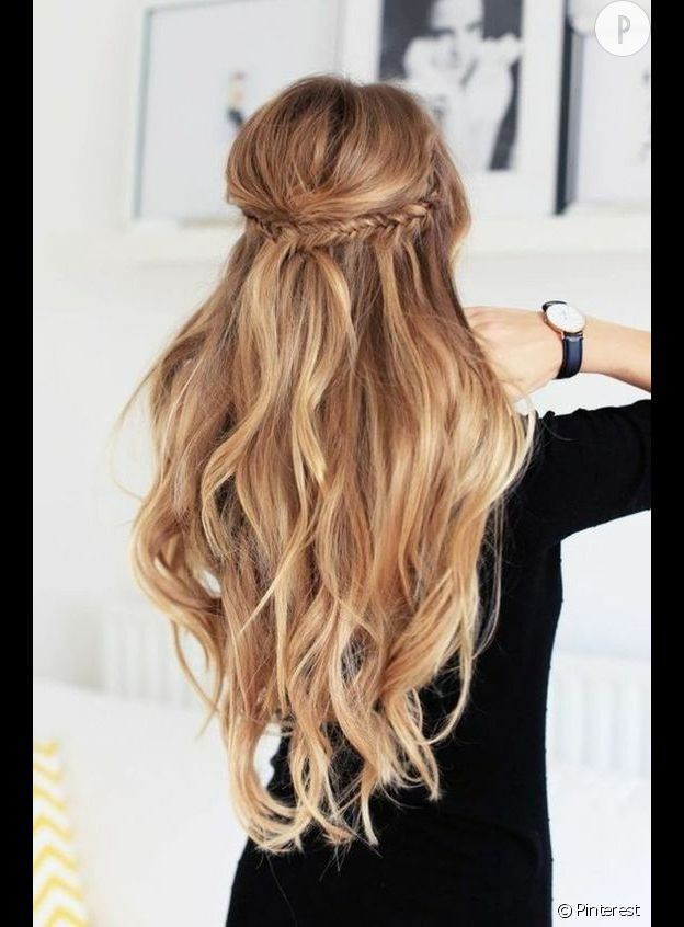 Comment coiffer des cheveux tres longs