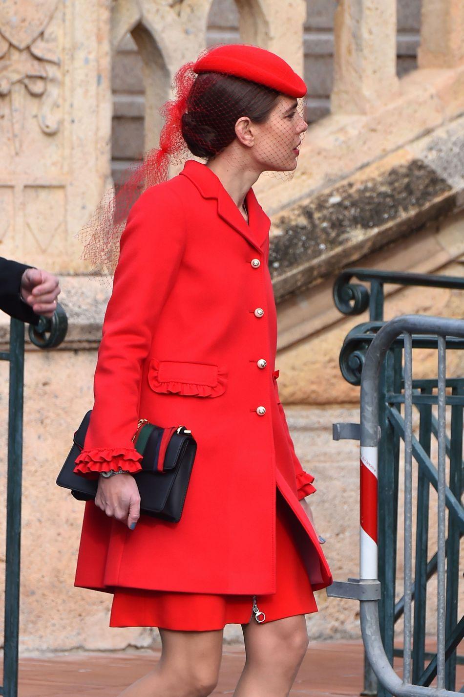 Charlotte Casiraghi à Monaco