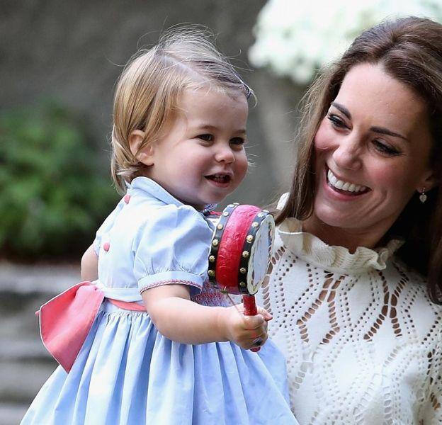 Kate et Charlotte, toujours aussi lookées.