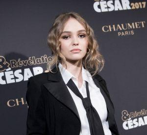 Le look du jour : l'allure androgyne chic de Lily-Rose Depp