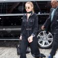 Gigi Hadid dans les rues de New york.