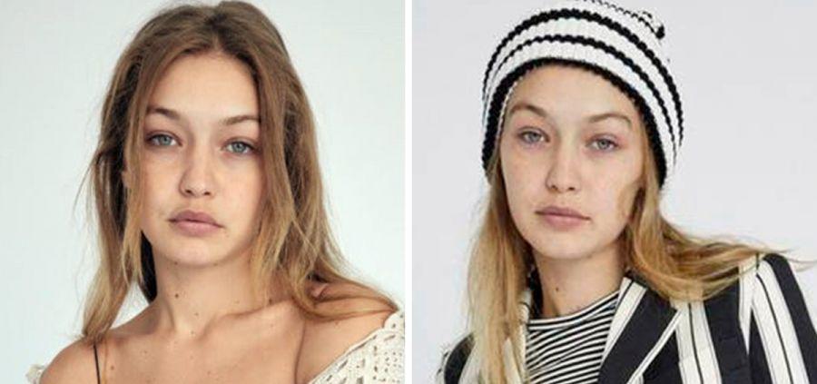 Gigi Hadid : le no make-up de sa dernière campagne mode qui fait du bien