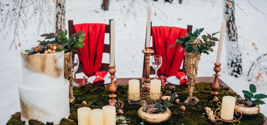 15 photos qui vont vous donner envie de vous marier en hiver