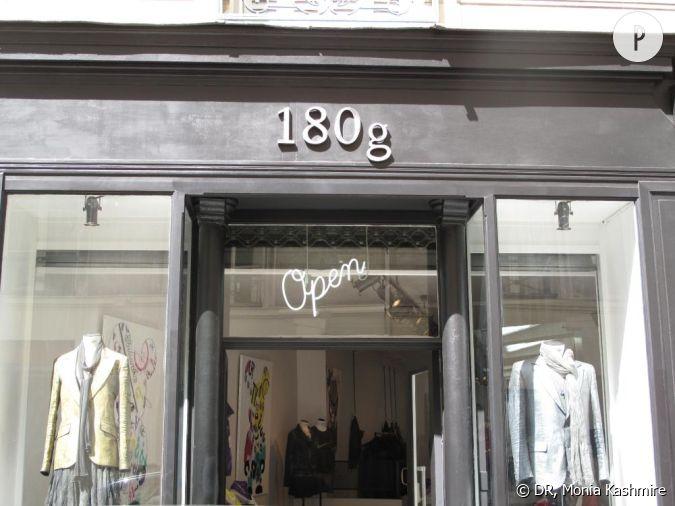 la boutique 180g dans le marais paris. Black Bedroom Furniture Sets. Home Design Ideas