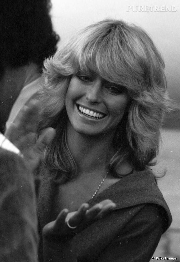 La coiffure de Farrah Fawcett avec sa coupe parfaitement brushée est une source d'influence pour de nombreuses stars aujourd'hui encore.