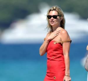 Les looks de Kate Moss à St Tropez