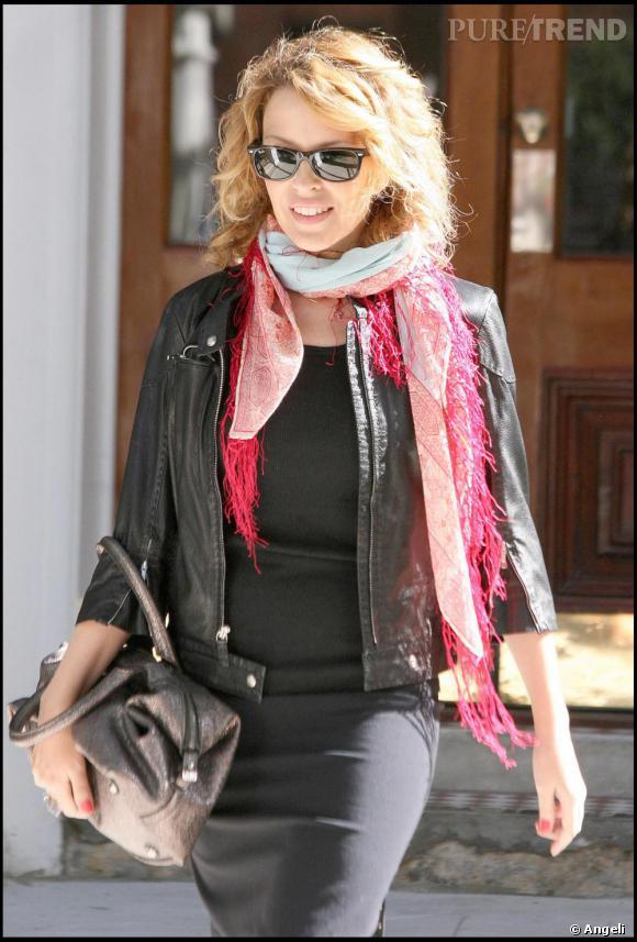 Kylie Minogue dans les rues de Londres