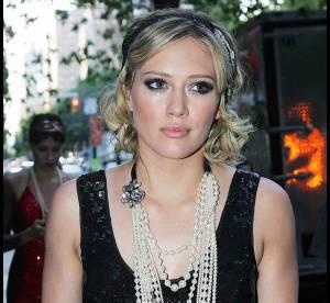 Hilary Duff, très Gossip Girl en mini robe