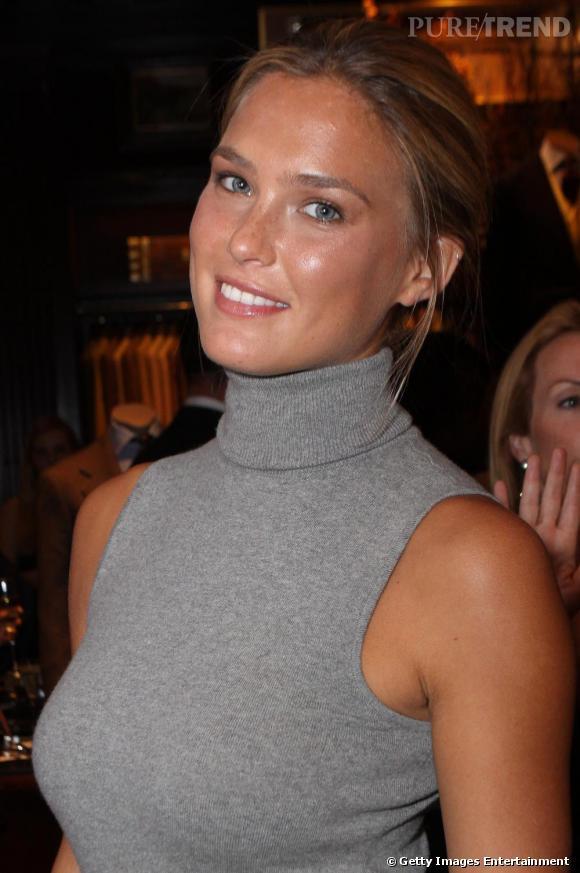 Bar Refaeli à la Fashion's Night Out de New-York, chez Ralph Lauren