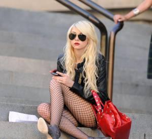 Taylor Momsen : 16 ans et un look totalement grunge rock !