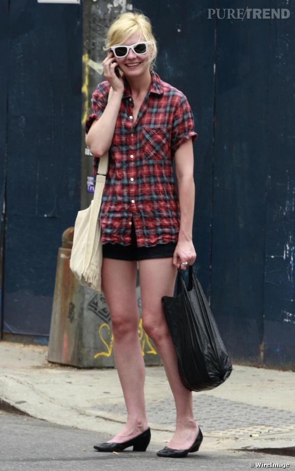 La It-girl Kirsten Dunst qui porte principalement des chaussures plates a accueilli à bras ouverts le retour mode de la ballerine