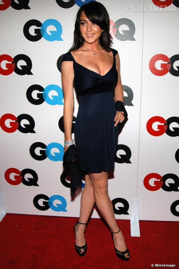Lindsay Lohan est ici au top ! Adulée par Karl Lagerfeld, amie de Kate Moss, son ascension mode est à son apogée. Sobre, féminine et élégante, elle est ici l'idée d'une jeune génération de fashionista.