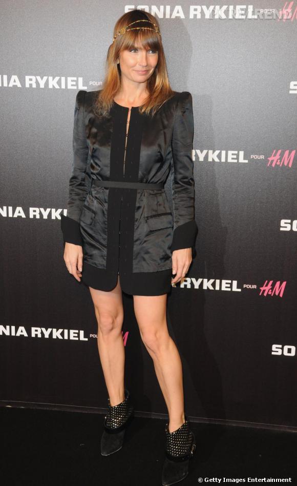 Axelle Lafont lors de la soirée Sonia Rykiel pour HM