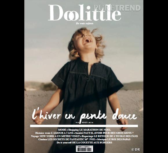 Doolittle, le nouveau magazine mode des enfants