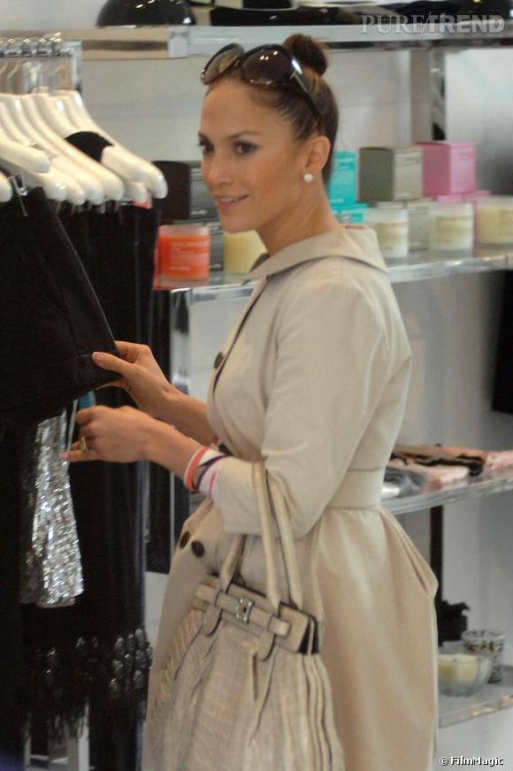 Jennifer Lopez fait du shopping à Los Angeles