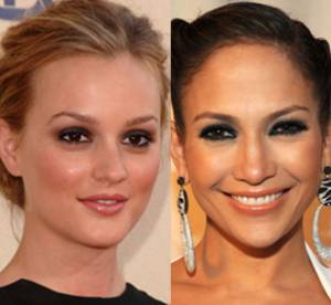 Leigthon Meester Vs Jennifer Lopez : comment porter les yeux charbonneux ?