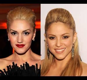 Gwen Stefani Vs Shakira : coiffure, qui porte le mieux la coque ?
