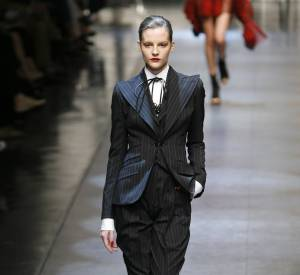 Défilé Dolce & Gabbana - Sara Blomqvist - Milan Printemps Eté 2010