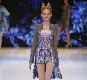 Défilé Alexander McQueen - Hanne Gaby Odiele - Paris Printemps Eté 2010