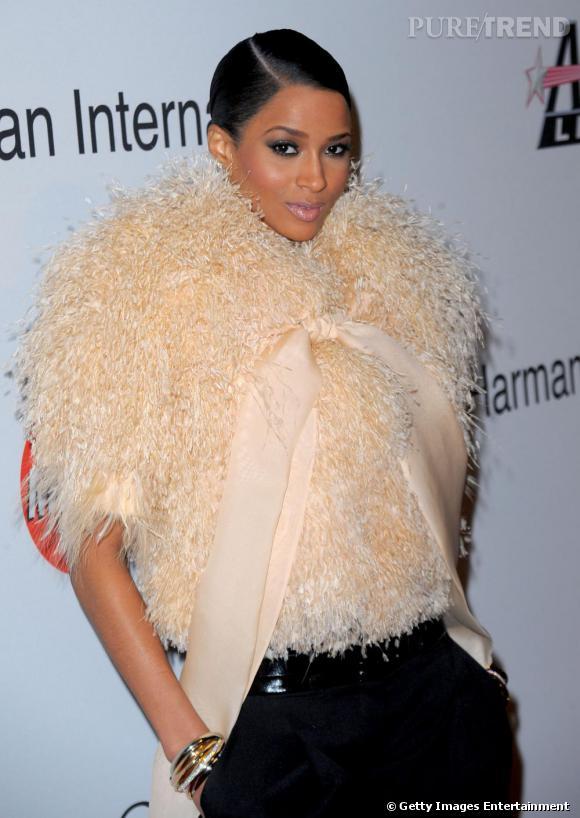 Ciara lors de la soirée des Grammy Awards