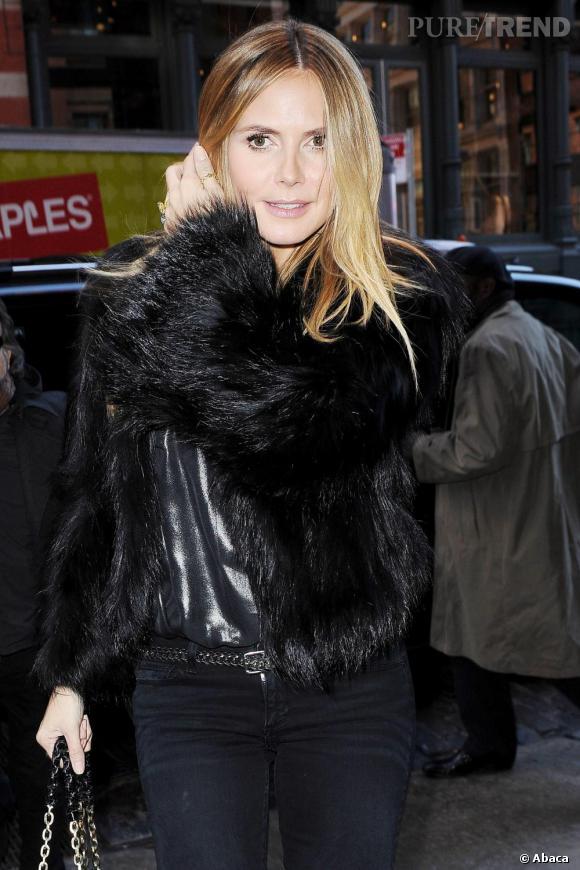 Heidi Klum à New-York.