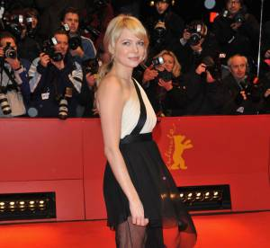 Michelle Williams : incroyable en robe transparente