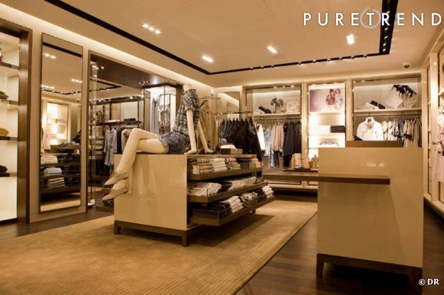 La nouvelle boutique Burberry à Paris